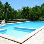 Gite à louer Laurac: la piscine